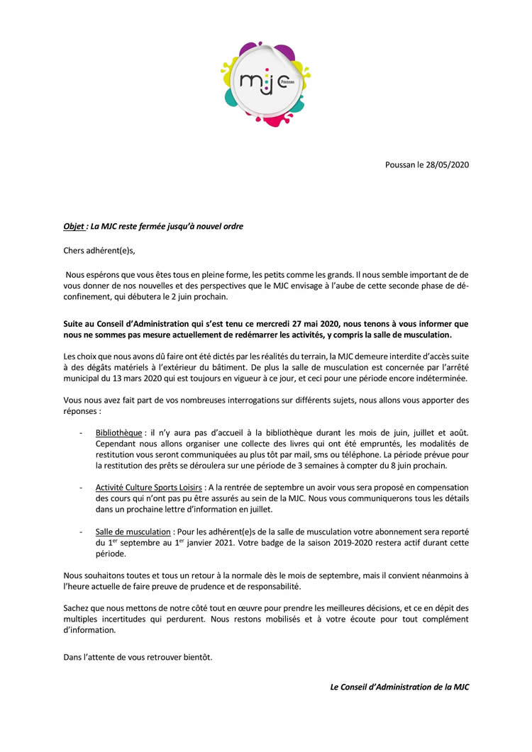 Adherents Courrier 29MAI