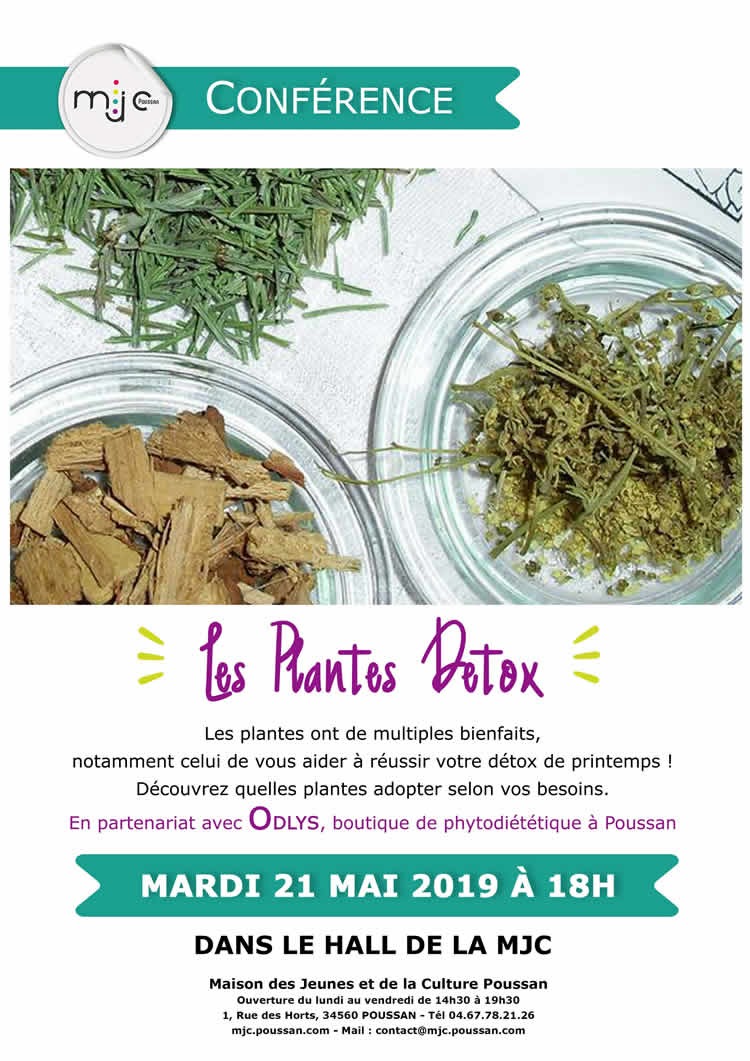 Conference Plantes Usages 2019